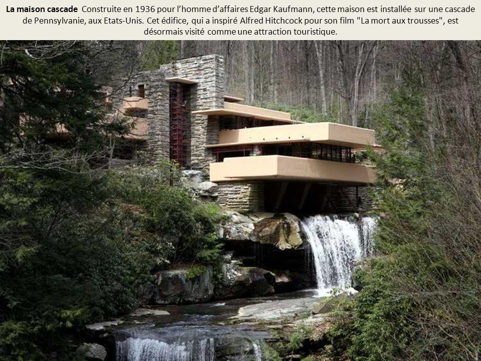 Ces incroyables maisons sortent de l 39 ordinaire ppt video for Maison cascade