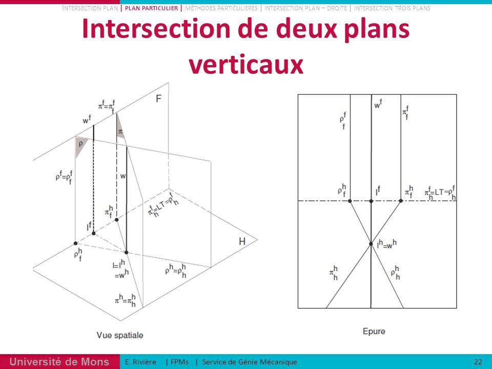 Intersection de deux plans - Forum mathématiques première ...