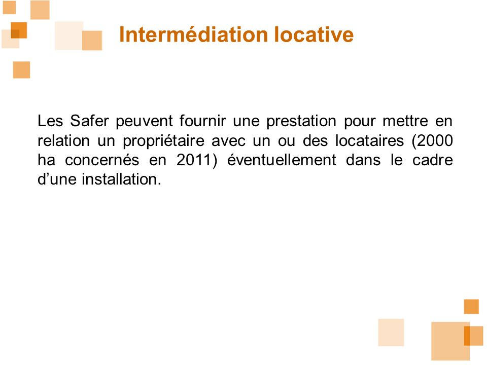 Intermédiation locative