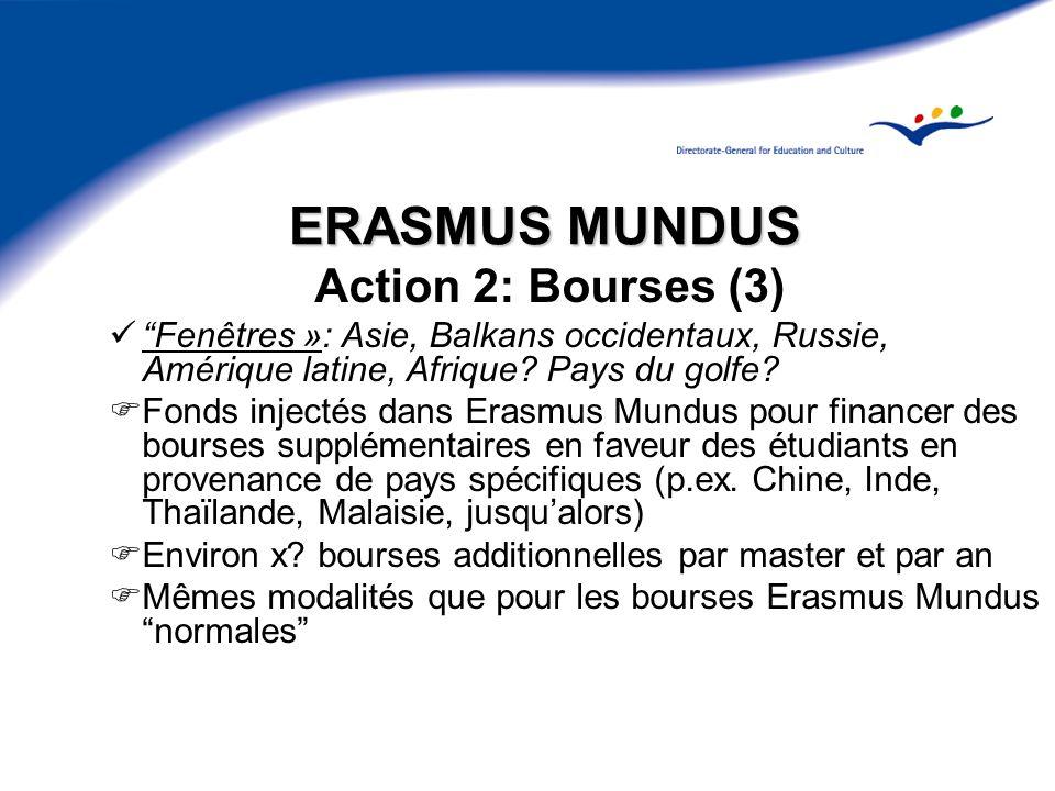 ERASMUS MUNDUS Action 2: Bourses (3)