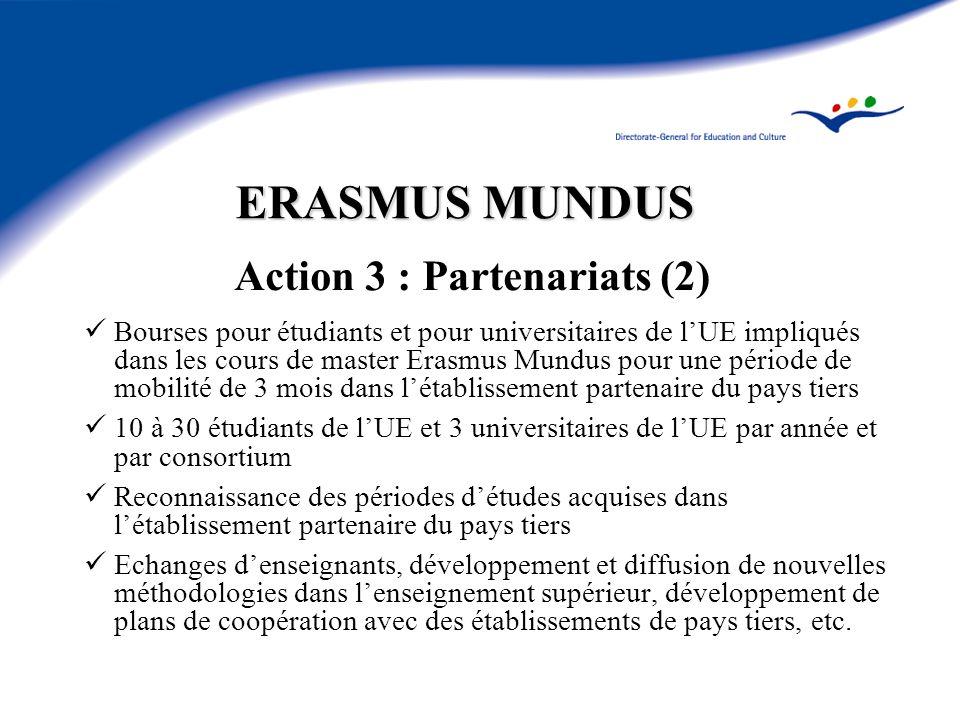 Action 3 : Partenariats (2)