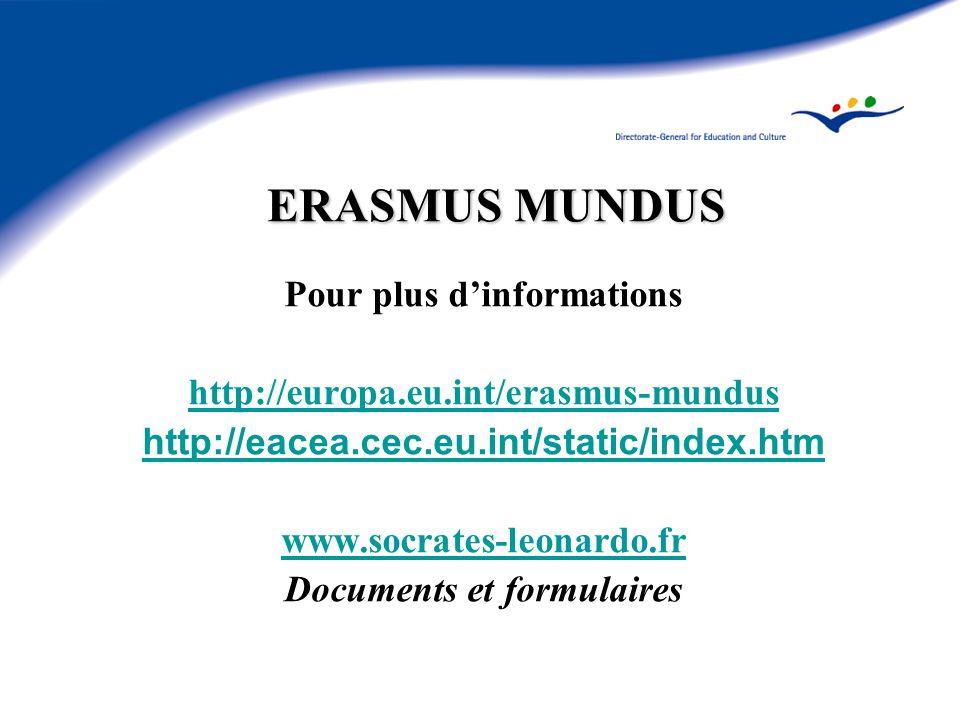 Pour plus d'informations Documents et formulaires