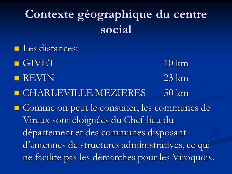 Contexte géographique du centre social