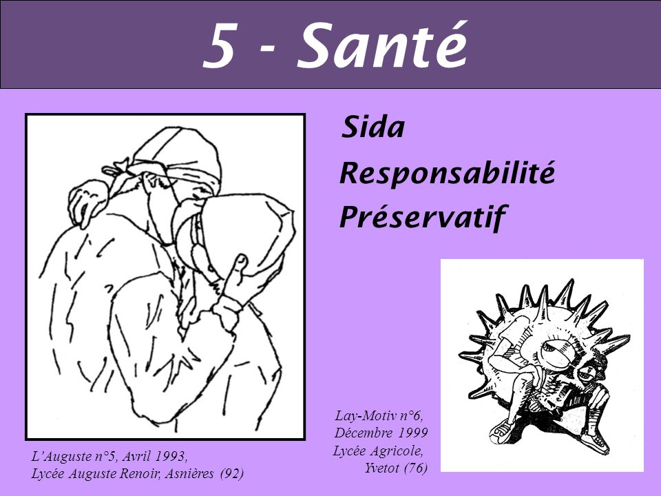 5 - Santé Sida Responsabilité Préservatif Lay-Motiv n°6, Décembre 1999