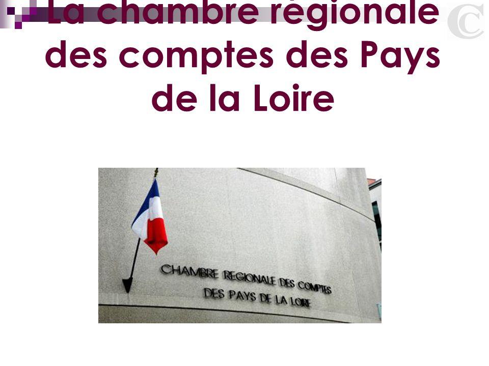 La chambre r gionale des comptes des pays de la loire ppt t l charger - Chambre des notaires pays de loire ...
