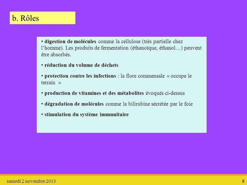 b. Rôles