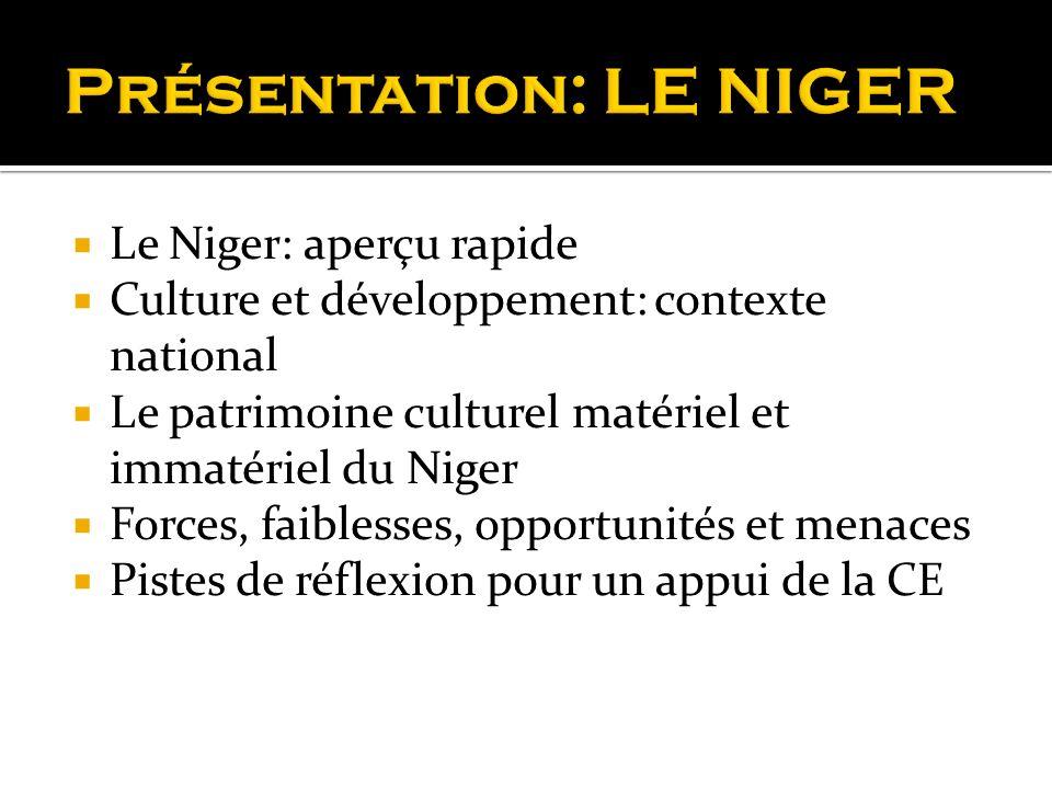 Présentation: LE NIGER