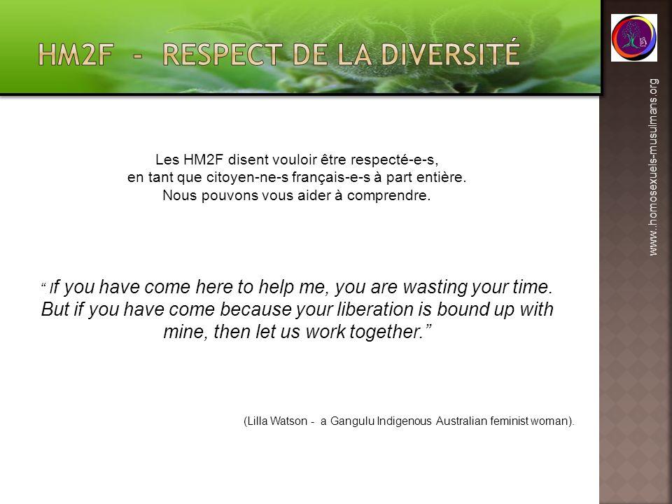 HM2F - respect de la diversité