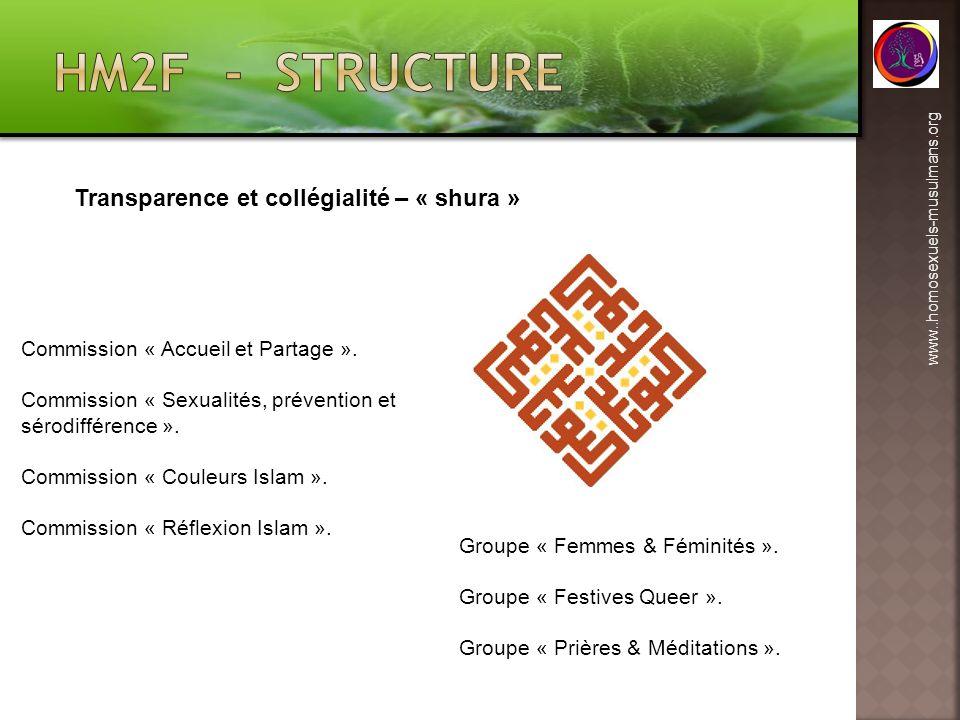 HM2F - structure Transparence et collégialité – « shura »