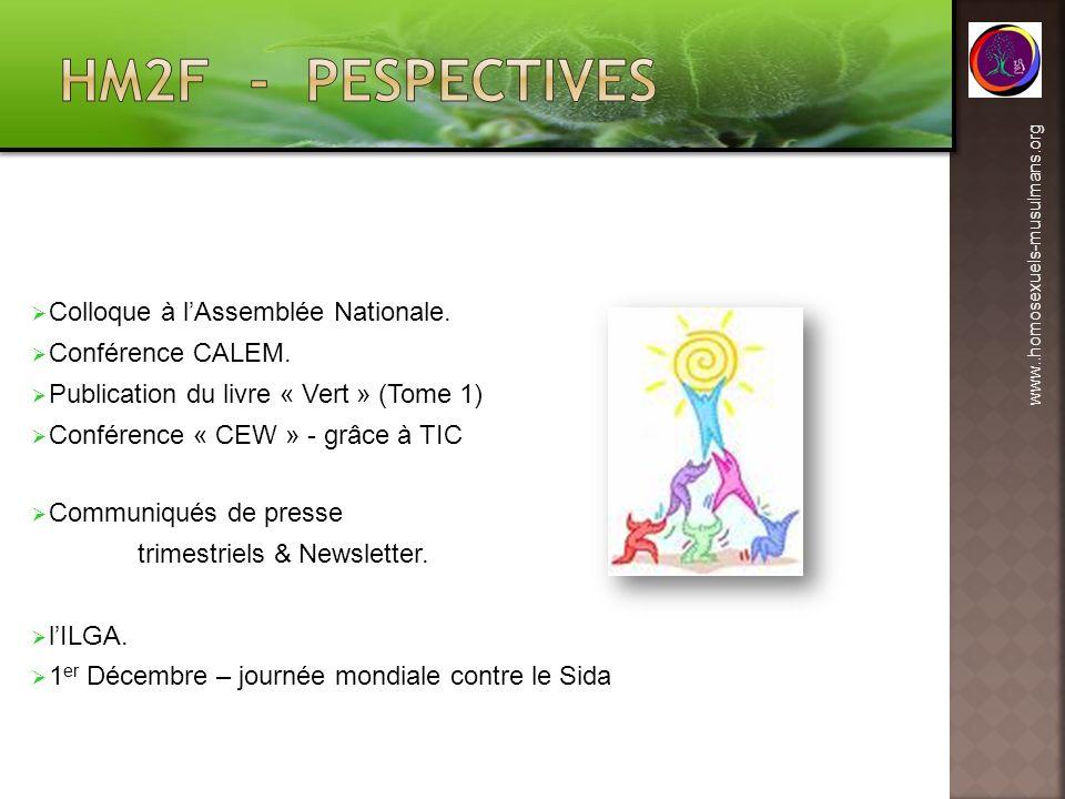 HM2F - pespectives Colloque à l'Assemblée Nationale. Conférence CALEM.