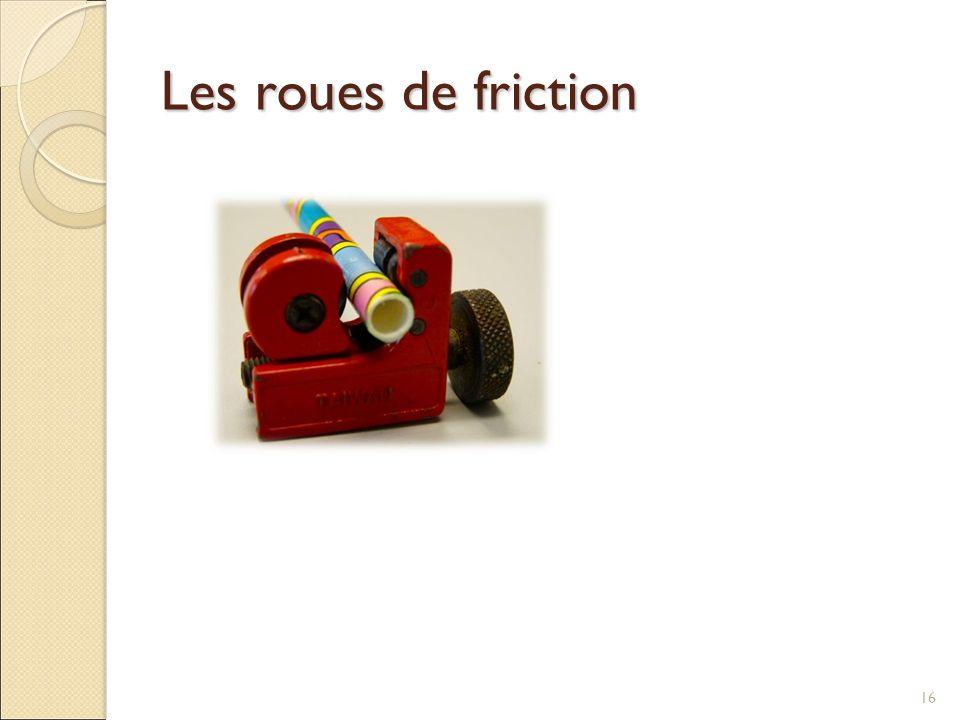 Les roues de friction