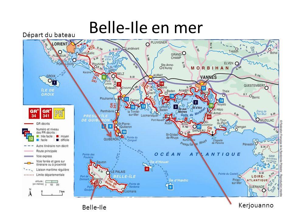 Belle ile en mer d part du bateau kerjouanno belle ile - Office du tourisme de belle ile en mer ...
