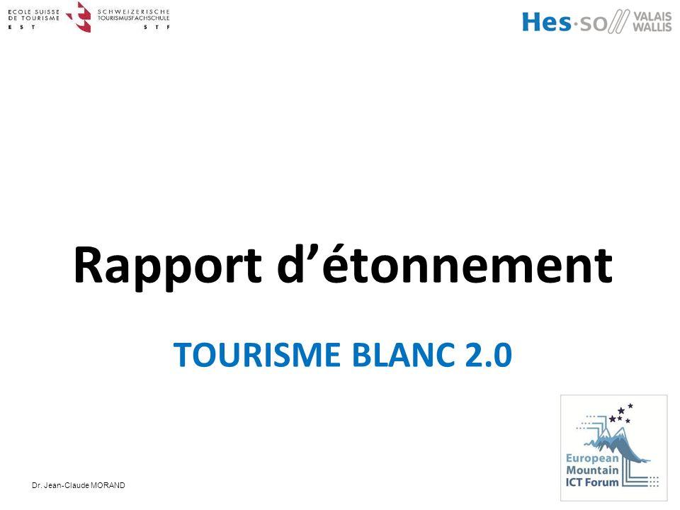 Rapport d'étonnement TOURISME BLANC 2.0