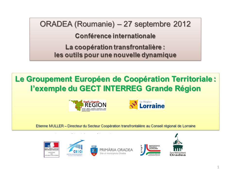 ORADEA (Roumanie) – 27 septembre 2012