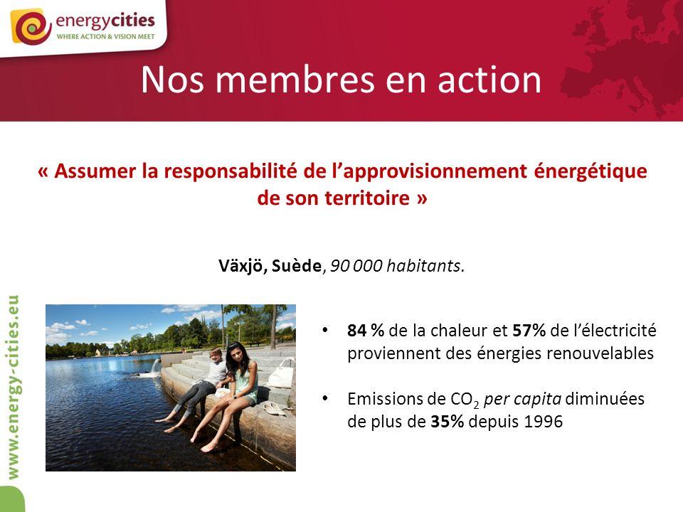 Nos membres en action « Assumer la responsabilité de l'approvisionnement énergétique de son territoire »
