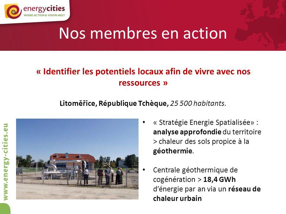 « Identifier les potentiels locaux afin de vivre avec nos ressources »