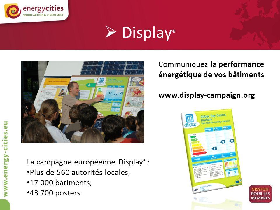 Display® Communiquez la performance énergétique de vos bâtiments