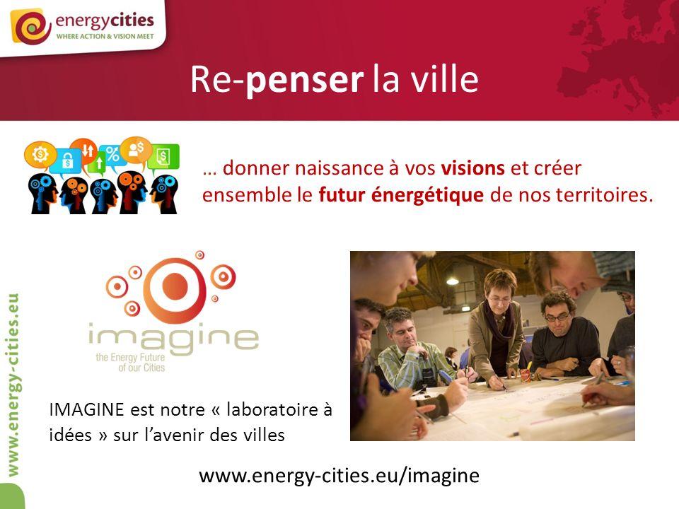 Re-penser la ville … donner naissance à vos visions et créer ensemble le futur énergétique de nos territoires.