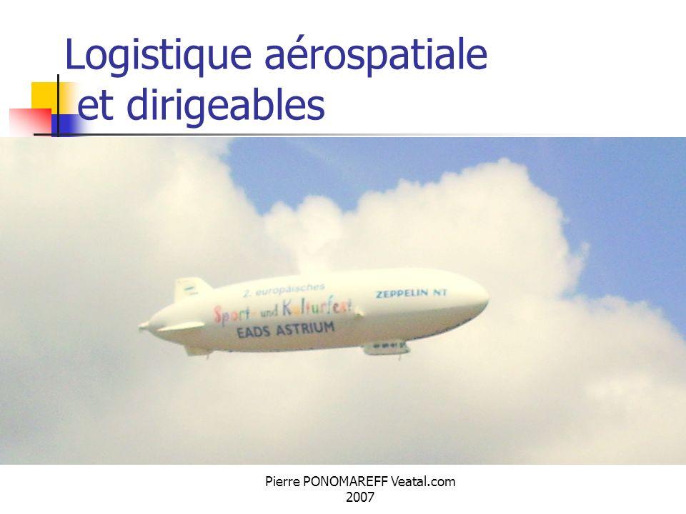 Logistique aérospatiale et dirigeables