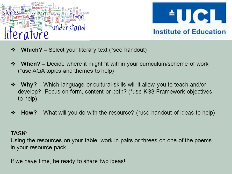 student handout scheme of work This handout summarises what its best to integrate study skills teaching into the scheme of work students must be effective teaching of study skills.