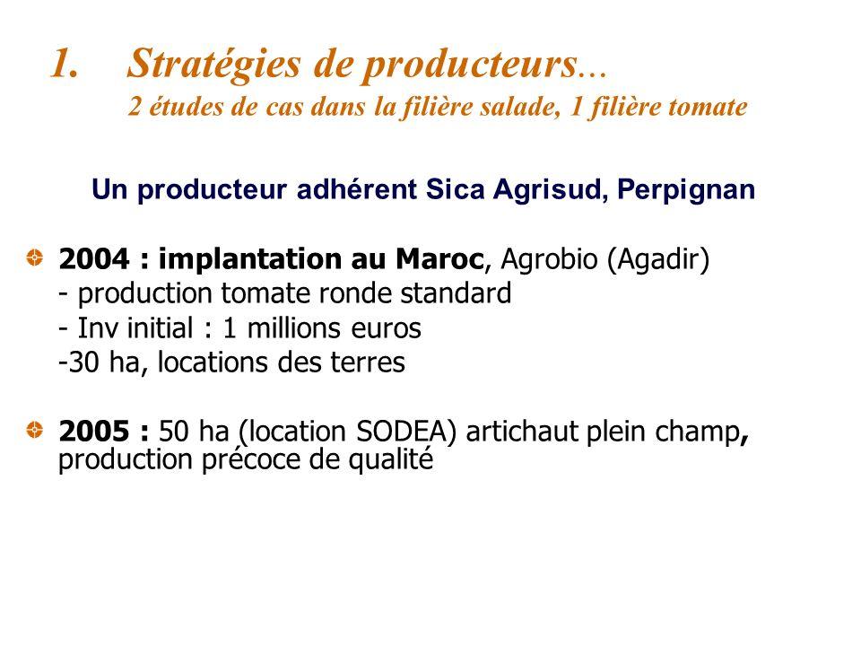 Un producteur adhérent Sica Agrisud, Perpignan