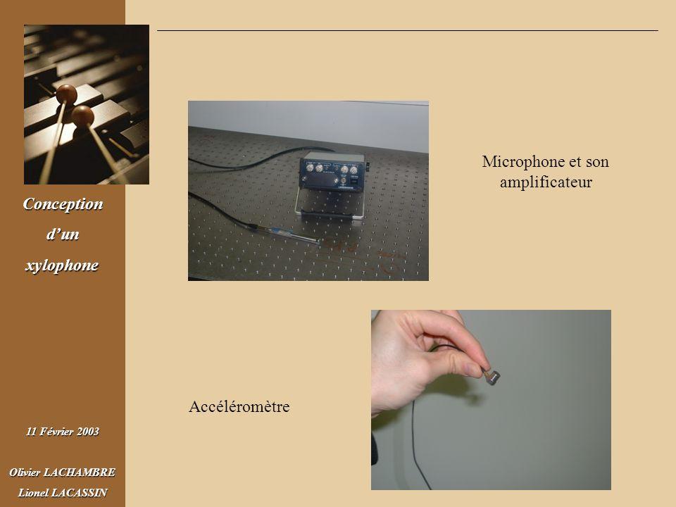 Microphone et son amplificateur