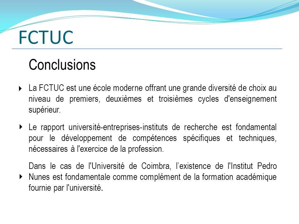 FCTUC Conclusions.