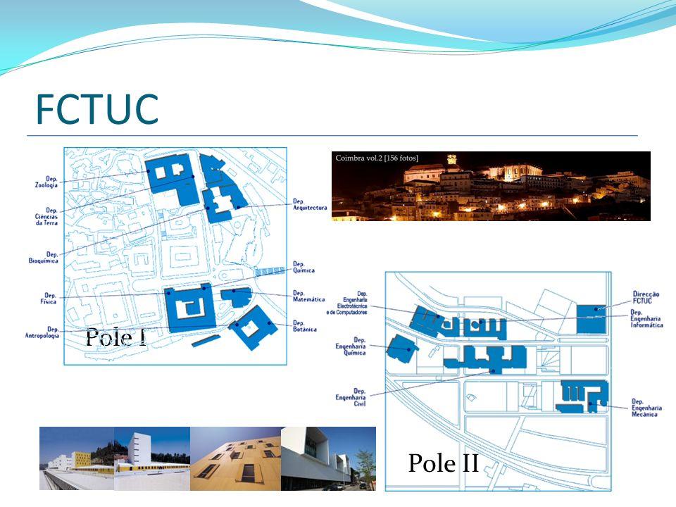FCTUC Pole II Pole I