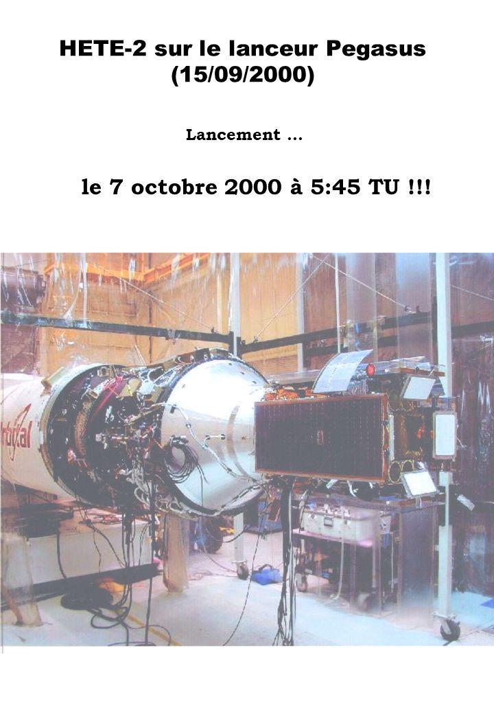 HETE-2 sur le lanceur Pegasus (15/09/2000)