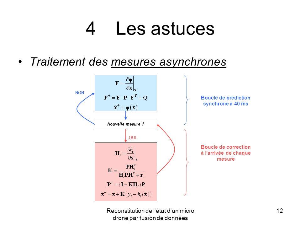 4 Les astuces Traitement des mesures asynchrones