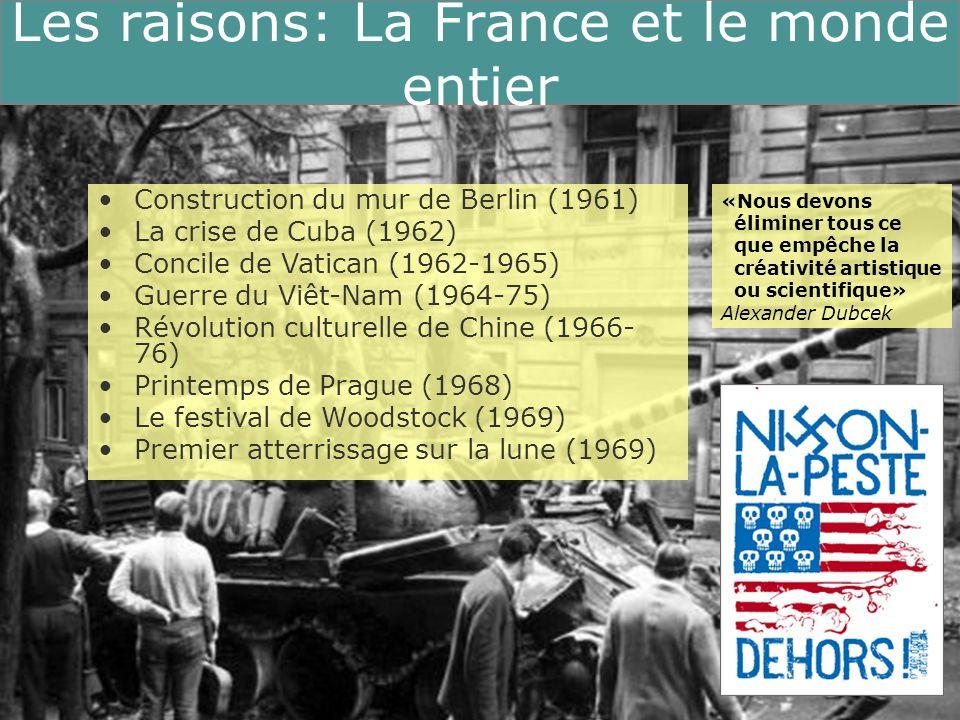 Les raisons: La France et le monde entier La France et le monde entier