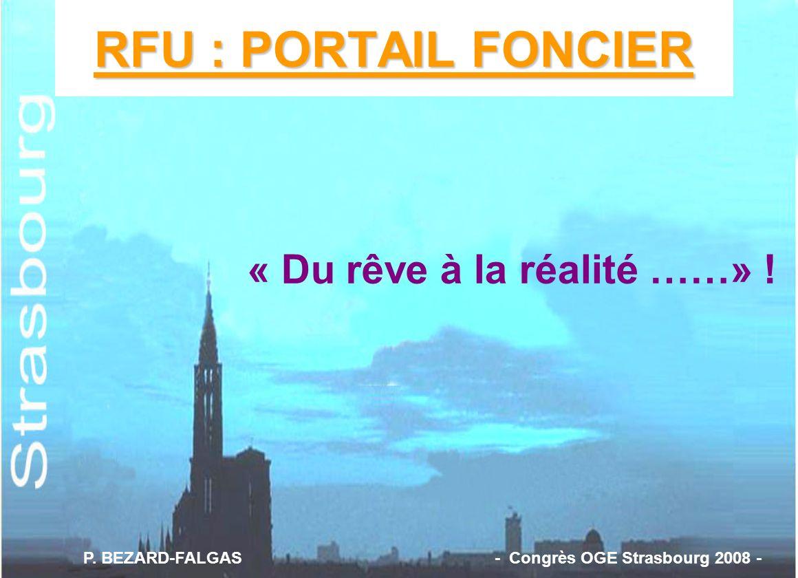 RFU : PORTAIL FONCIER « Du rêve à la réalité ……» !