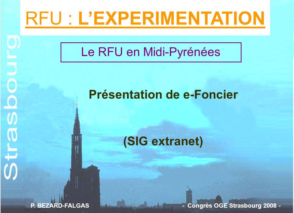 RFU : L'EXPERIMENTATION