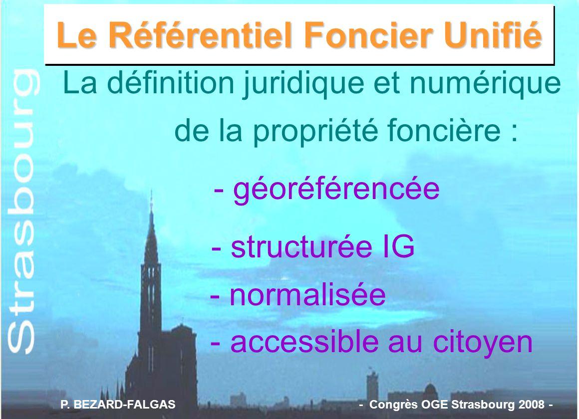 Le Référentiel Foncier Unifié