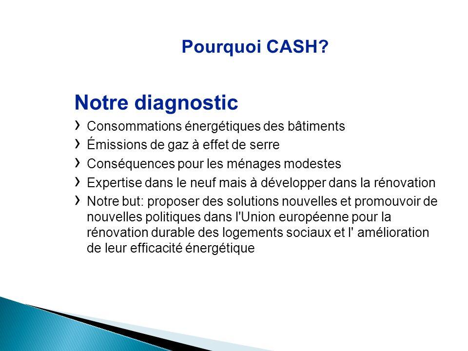 Notre diagnostic Pourquoi CASH