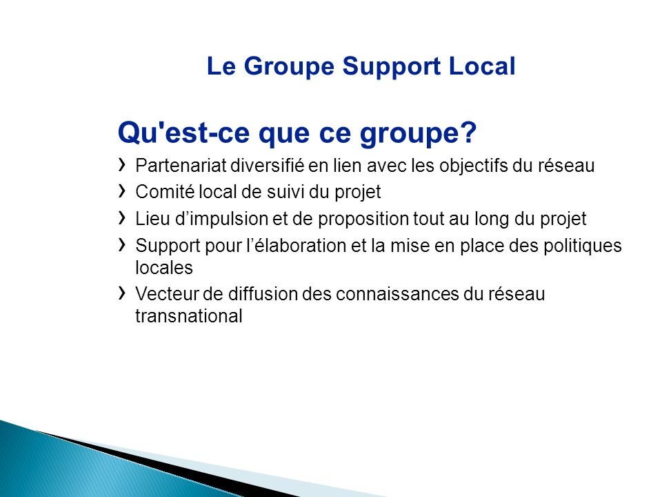 Le Groupe Support Local