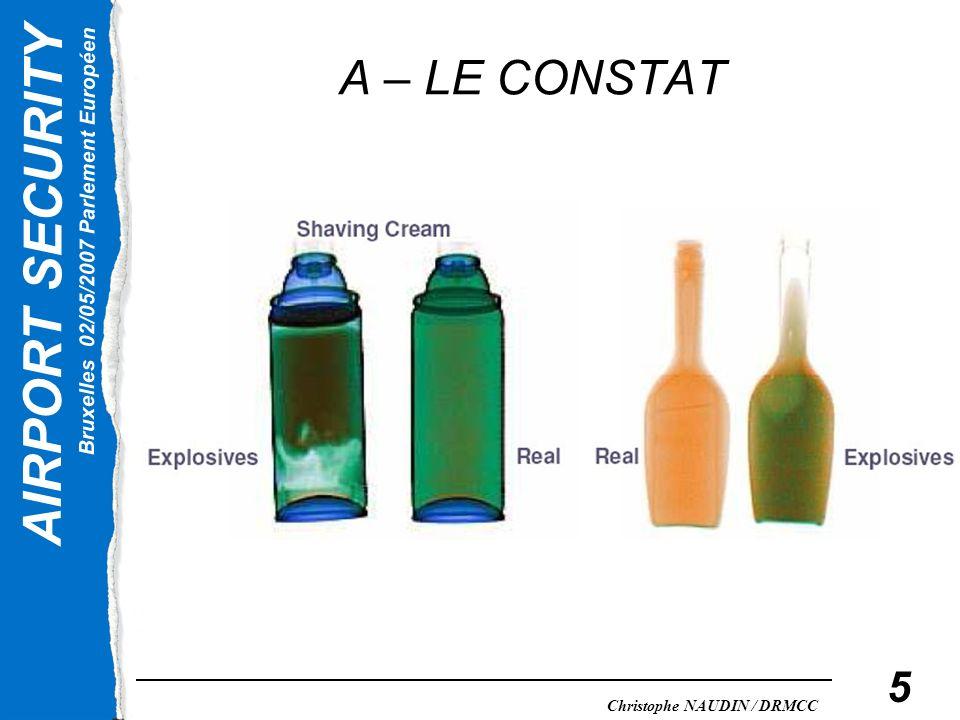 A – LE CONSTAT
