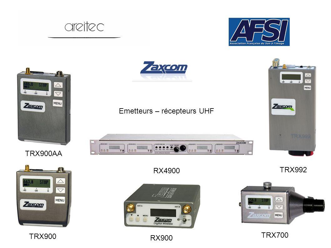 Emetteurs – récepteurs UHF