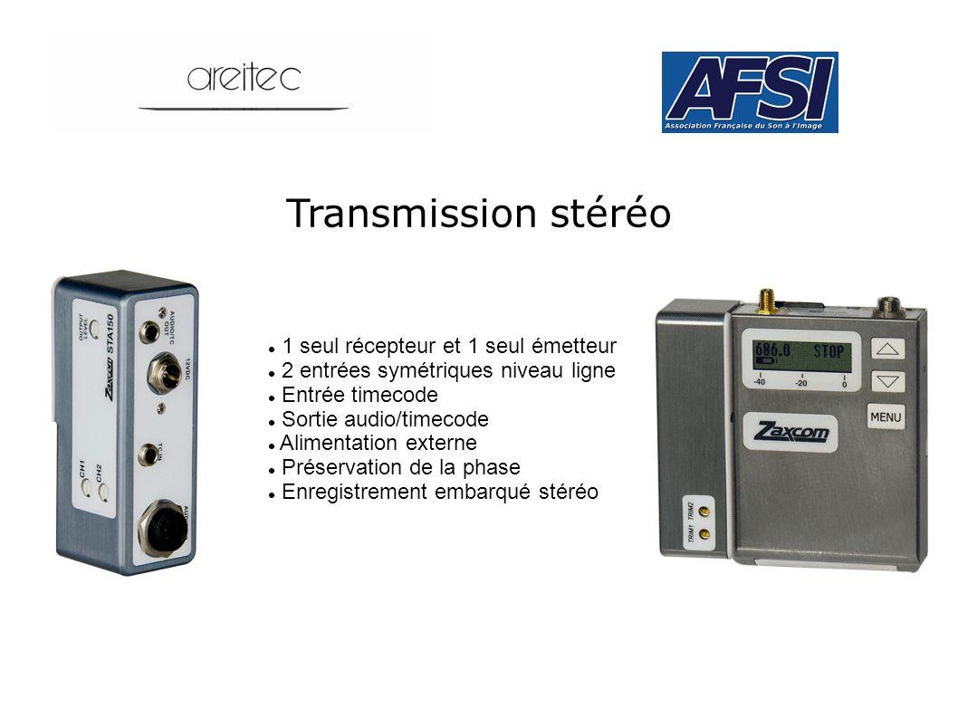Transmission stéréo 1 seul récepteur et 1 seul émetteur