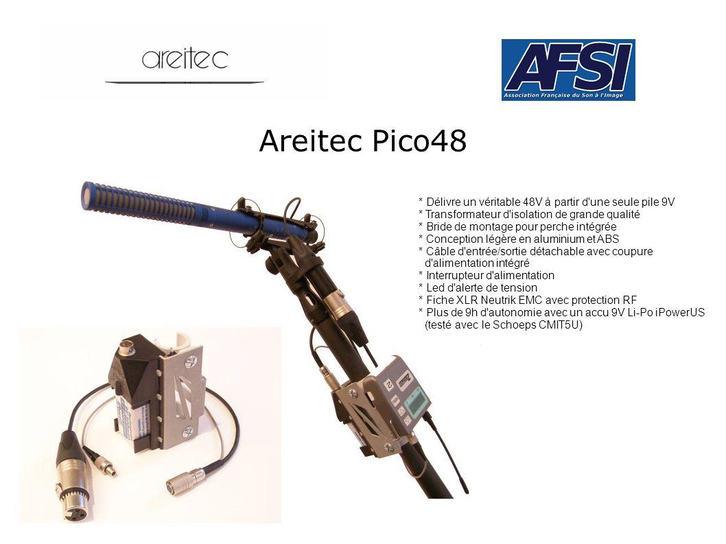 Areitec Pico48 * Délivre un véritable 48V à partir d une seule pile 9V