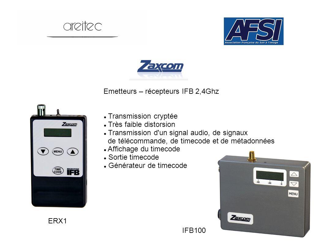 Emetteurs – récepteurs IFB 2,4Ghz