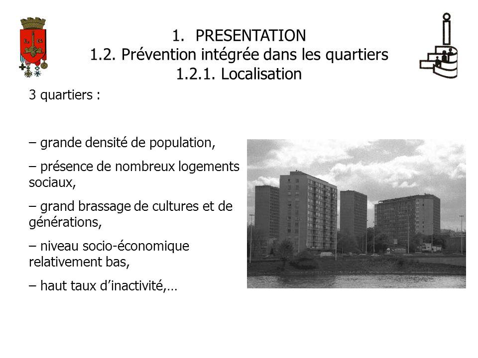 1.2. Prévention intégrée dans les quartiers