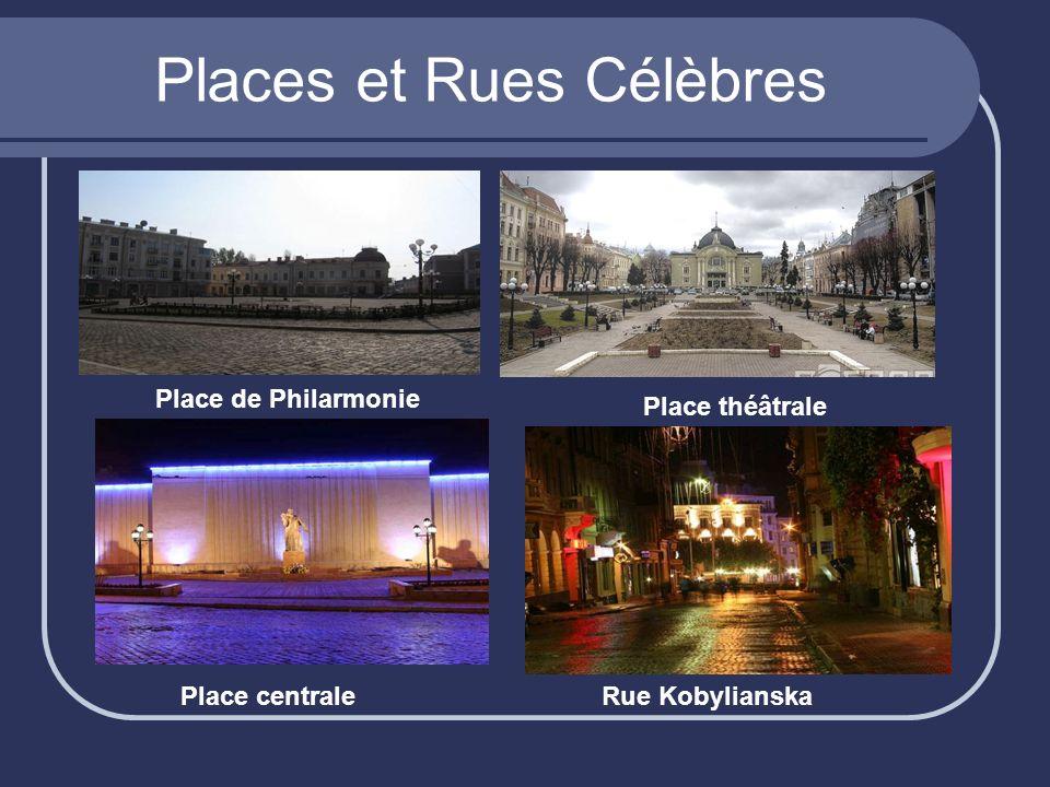 Places et Rues Célèbres