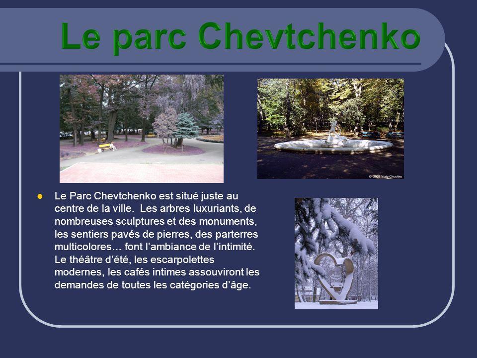 Le parc Chevtchenko