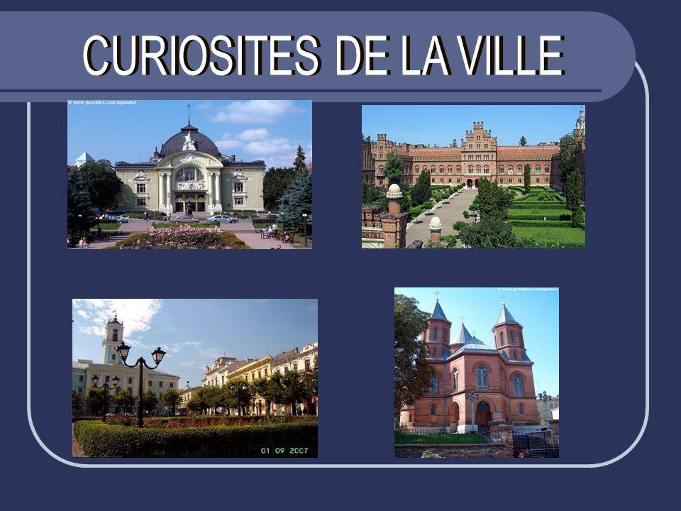 CURIOSITES DE LA VILLE