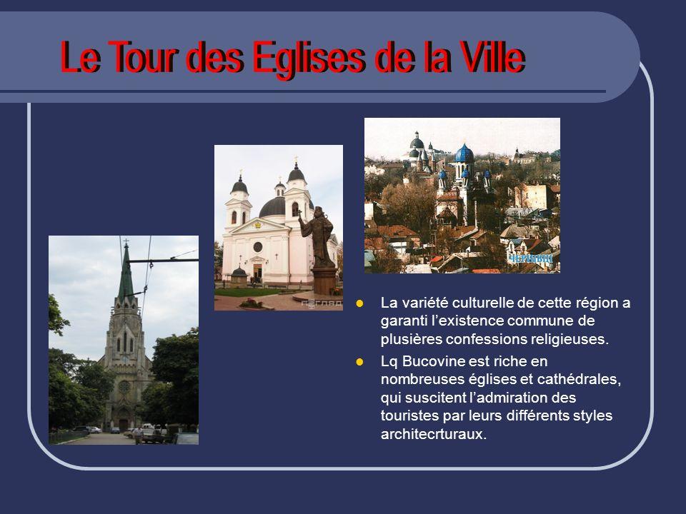 Le Tour des Eglises de la Ville