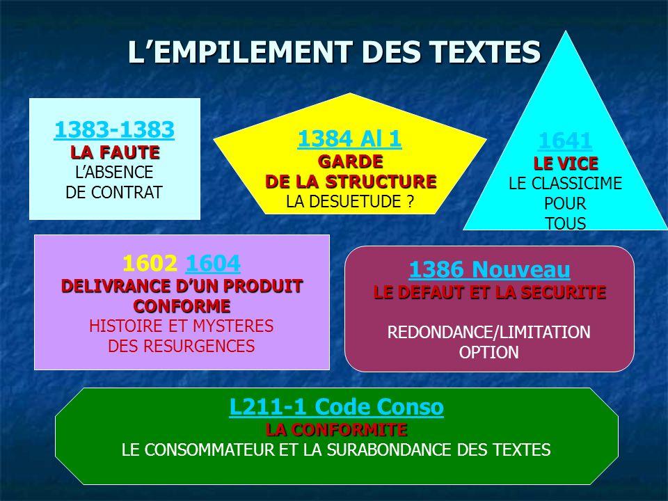 L'EMPILEMENT DES TEXTES