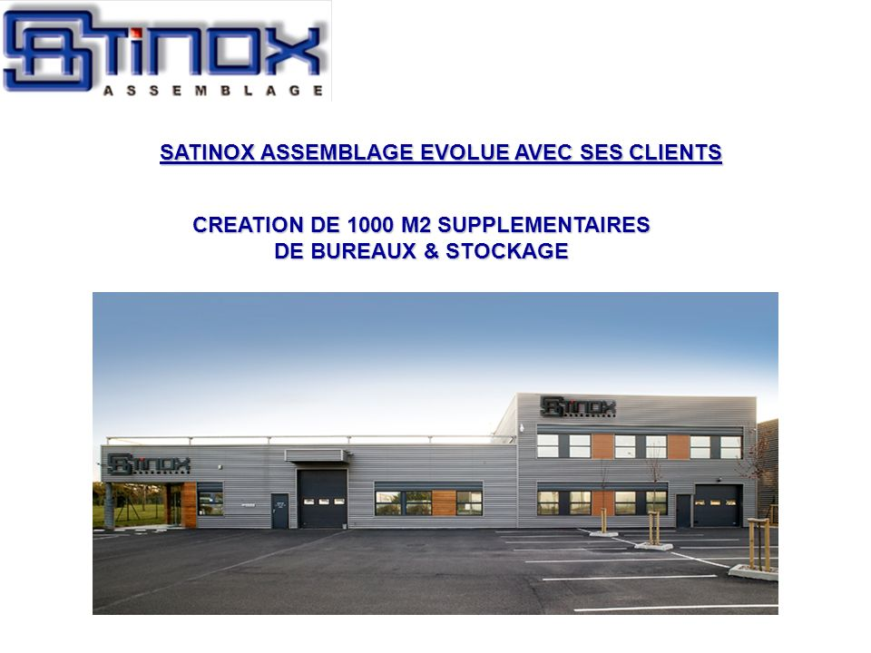 CREATION DE 1000 M2 SUPPLEMENTAIRES