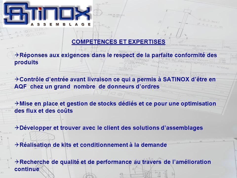 COMPETENCES ET EXPERTISES