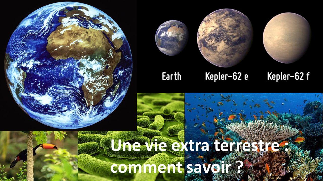 Une vie extra terrestre : comment savoir